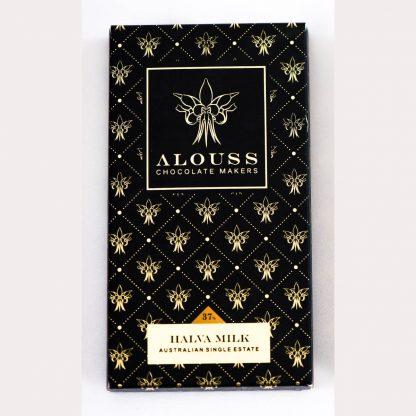 Alouss Halva Milk Chocolate Bar